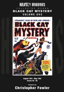 Harvey Horrors Collected Works - Black Cat Mystery (Vol 1)